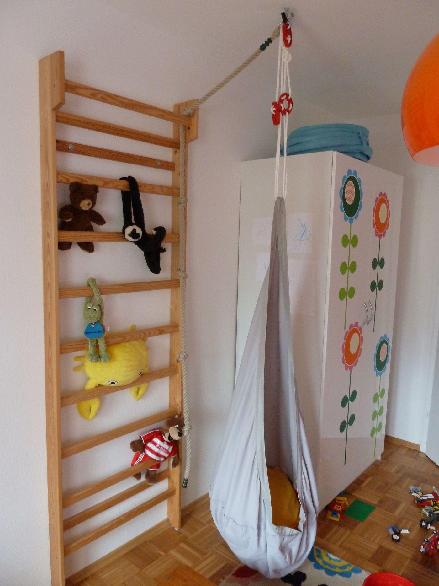 Wunderbar Exclusive Inspiration Sprossenwand Kinderzimmer Bilder ...