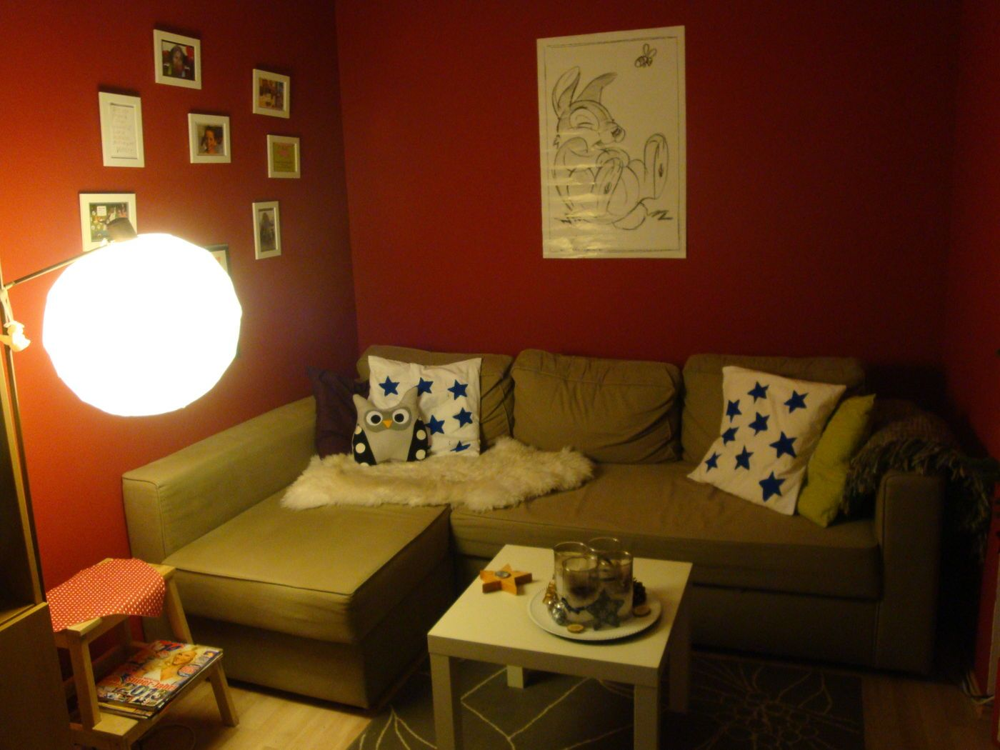 Rote Wand: Ideen & Bilder