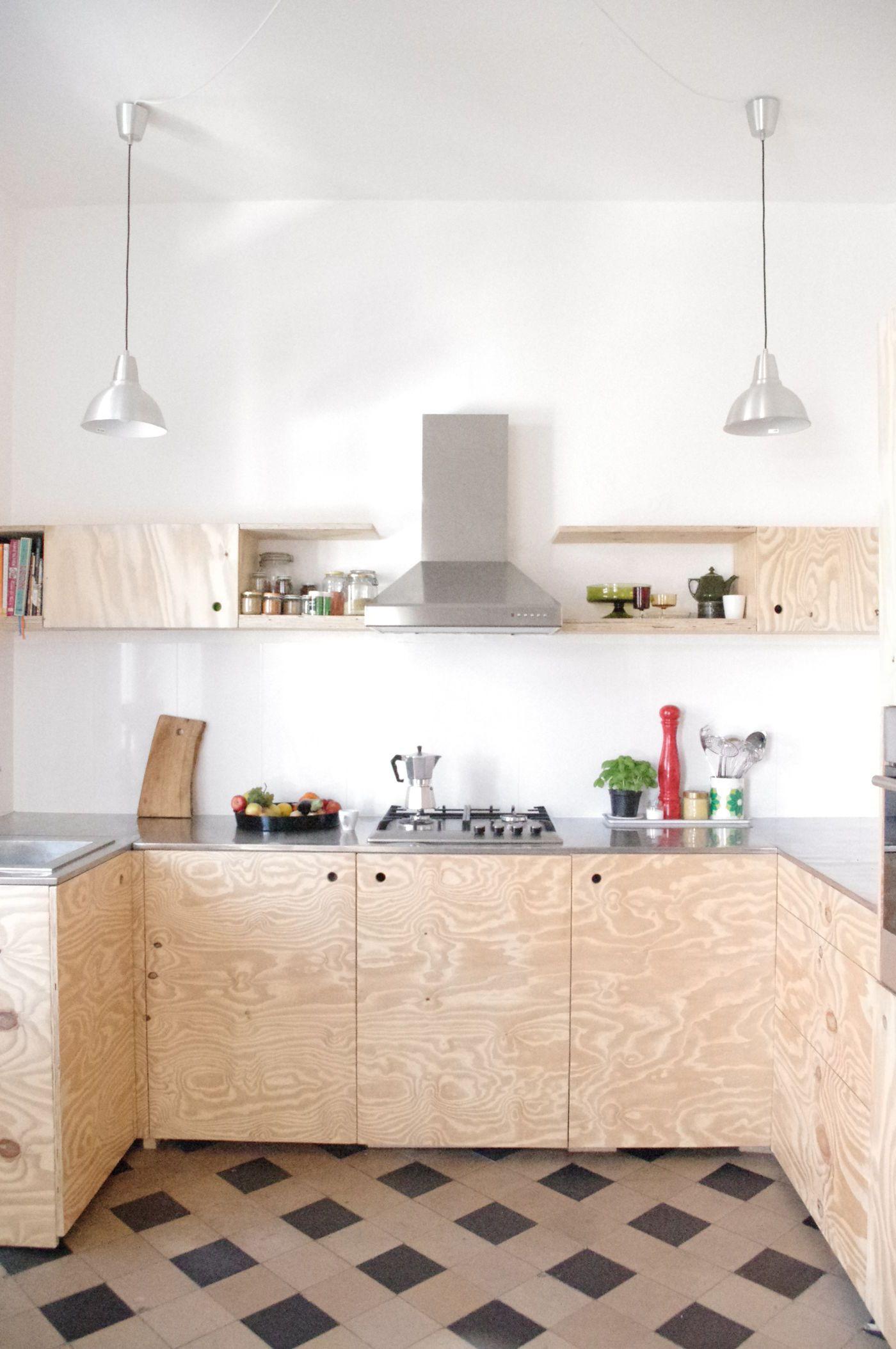 Küche Aus Sperrholz   Wohnideen Fur Holzliebhaber Sperrholz Und Plywood