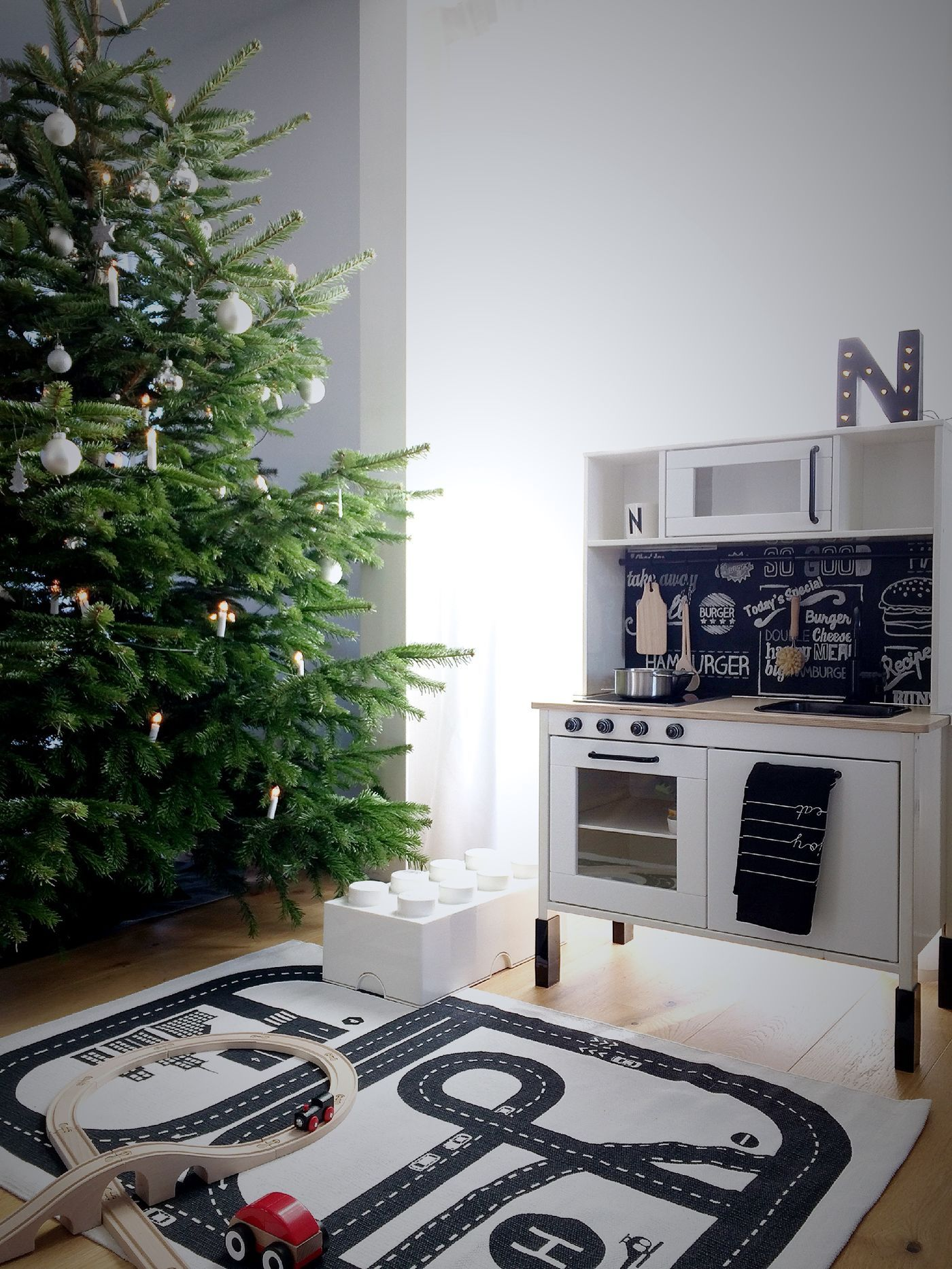 Schwarz Weiße Weihnachtsdeko.Die Schönsten Ideen Für Deine Weihnachtsdeko Seite 250