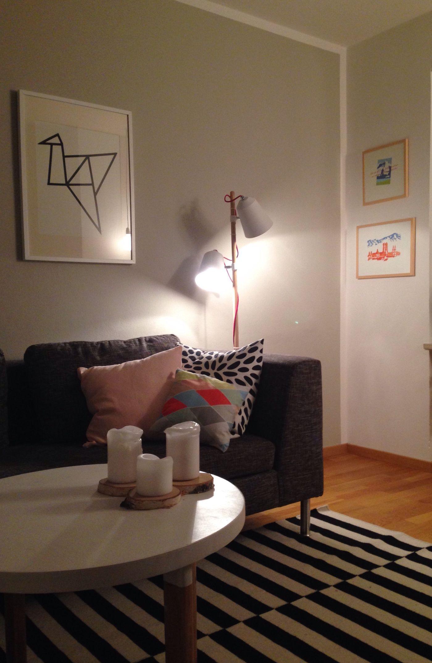Wandfarbe Wohnzimmer. Neues Heim Für Neue Lampe?
