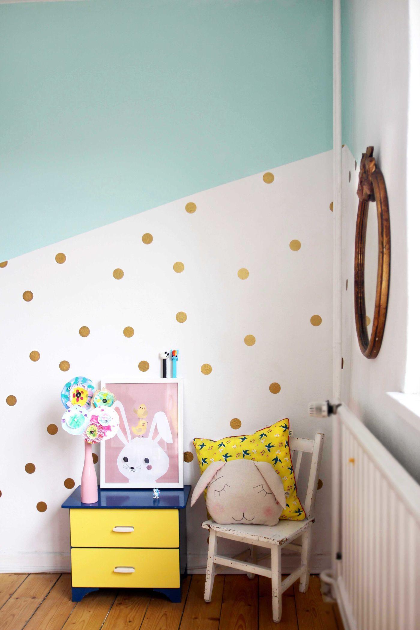 Die schönsten Ideen für die Wandfarbe im Kinderzimmer