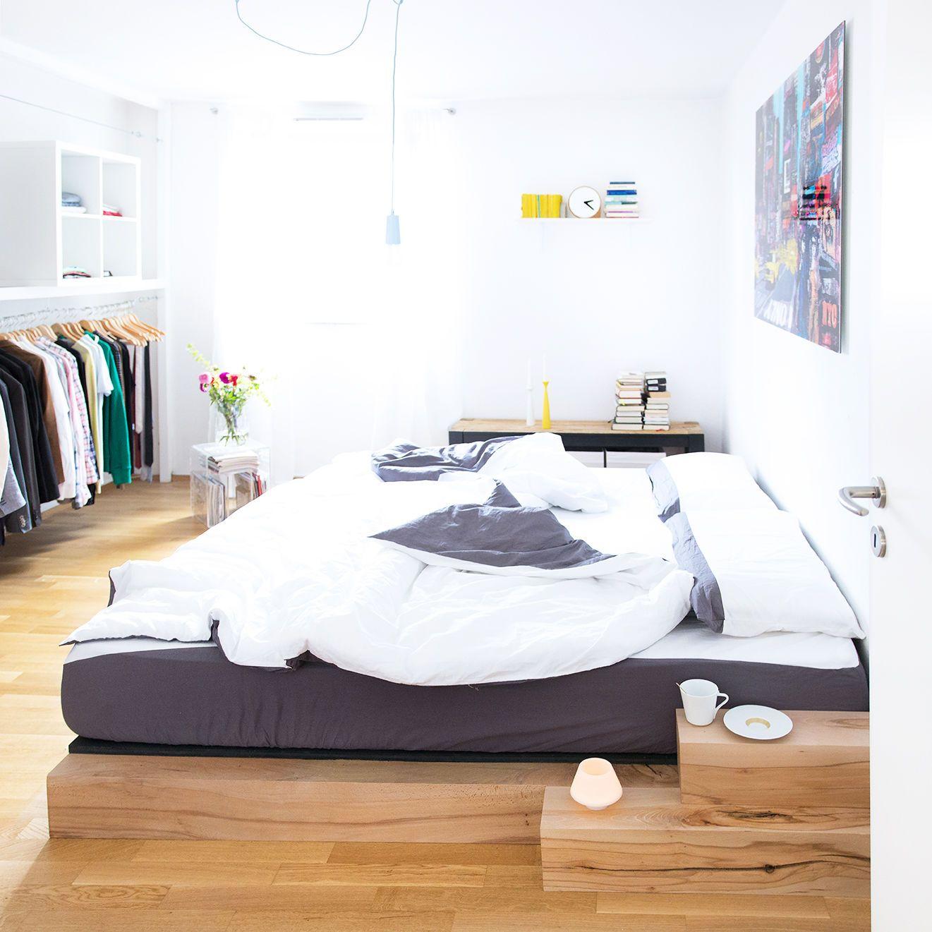 betten selber bauen die besten ideen und tipps seite 2. Black Bedroom Furniture Sets. Home Design Ideas