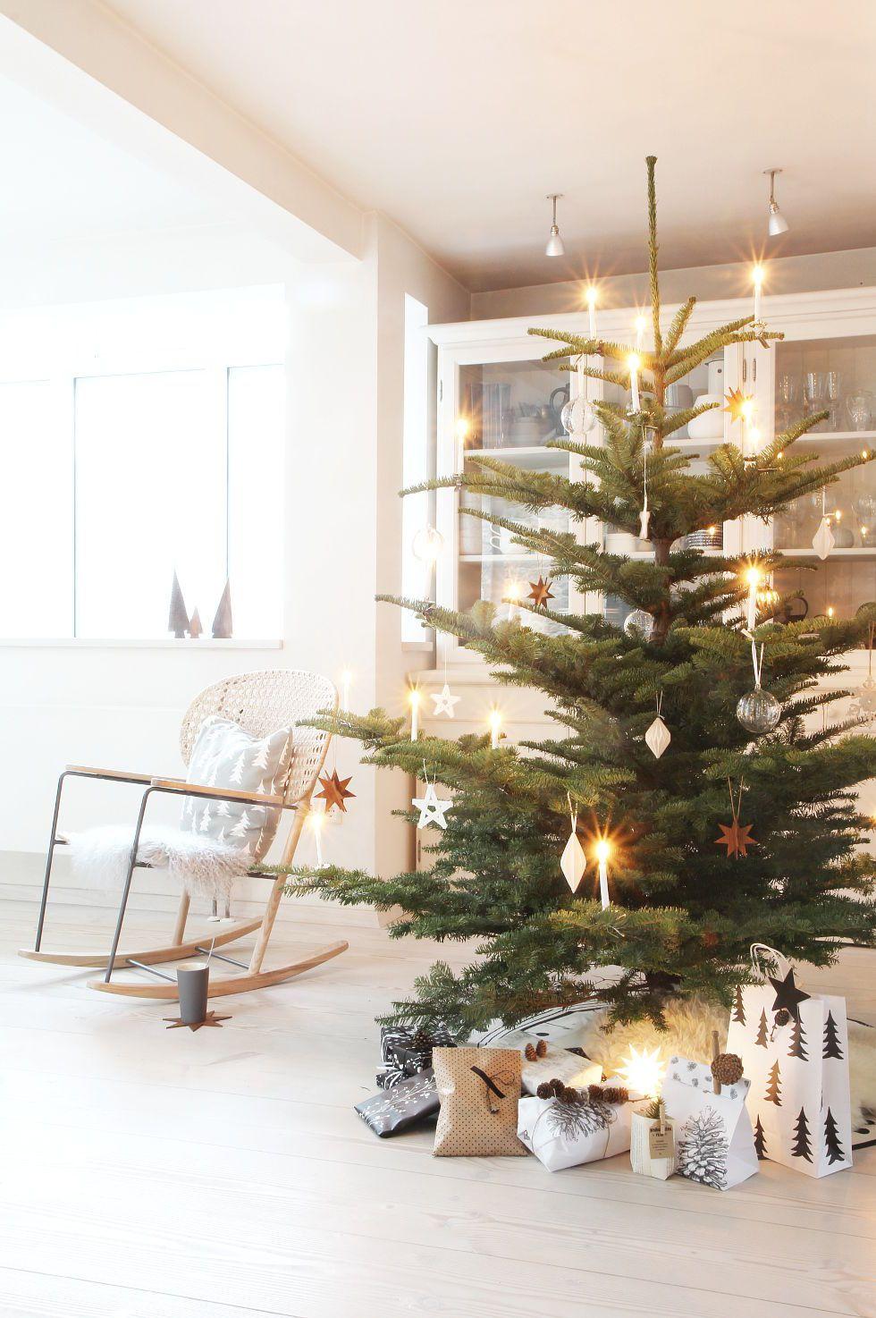 Die sch nsten ideen f r deinen weihnachtsbaum for Zimmer dekoration rosegold