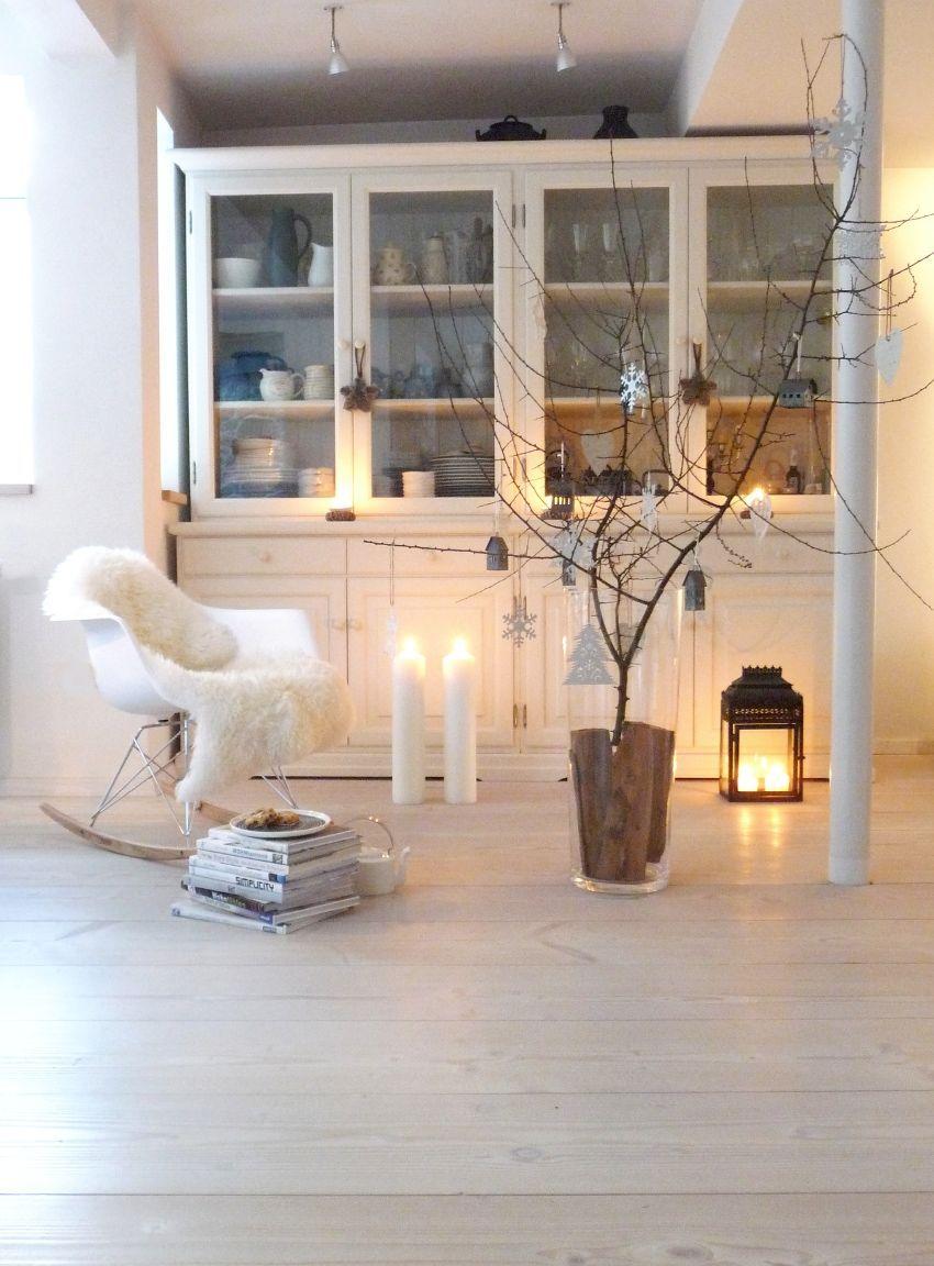 Die sch nsten ideen f r deine weihnachtsdeko for Wohnzimmer dekoration silber
