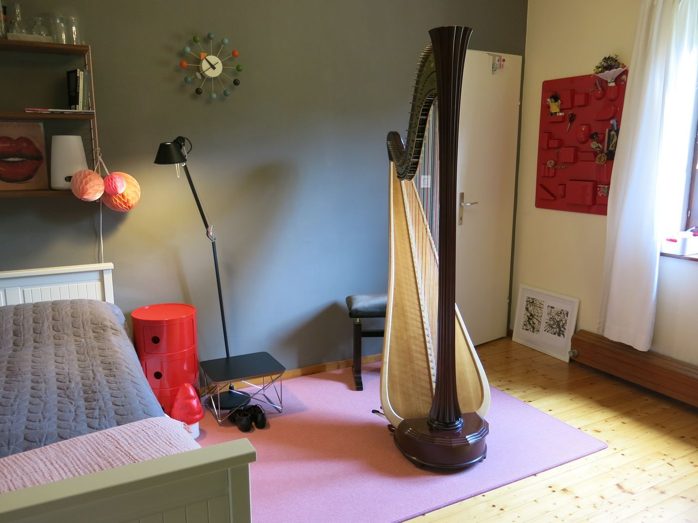 emejing wohn schlafraum einrichten photos. Black Bedroom Furniture Sets. Home Design Ideas