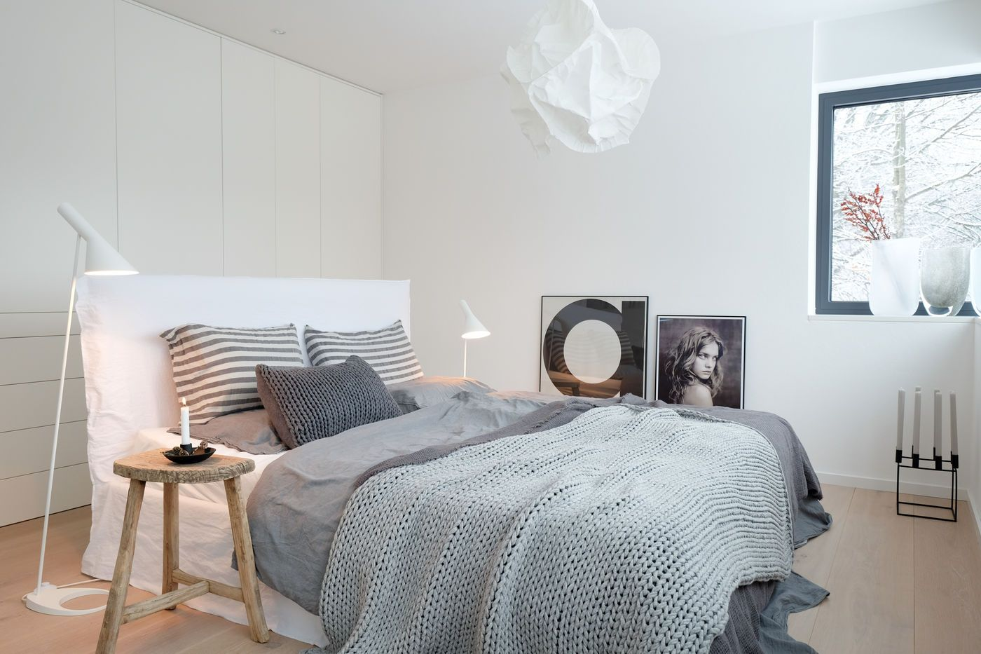 superior schlafzimmer skandinavisch #1: skandinavische Schlafzimmer. Winterschlafzimmer