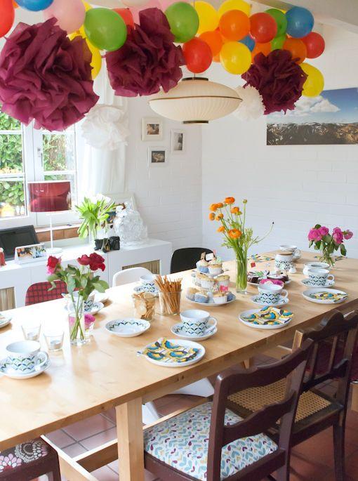 Tischdeko Geburtstag Bilder Ideen Seite 36