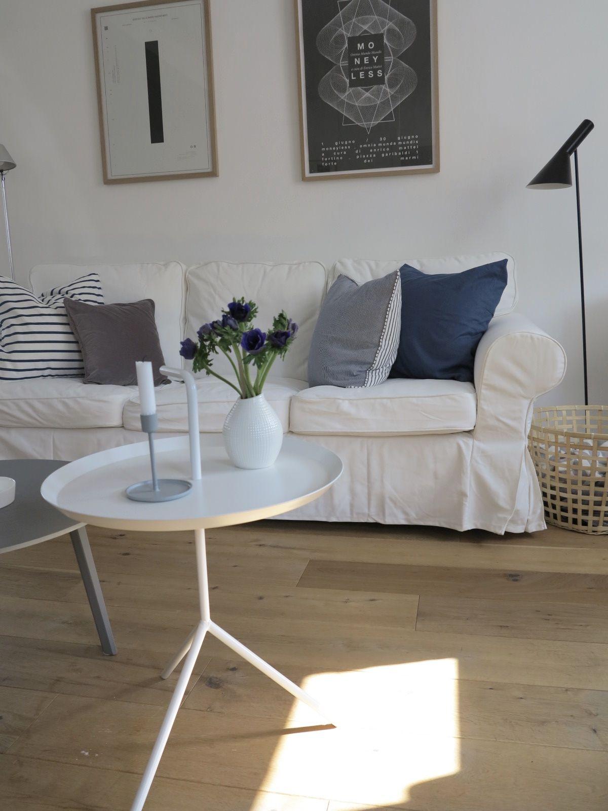 Superior Kuhle Startseite Dekoration Modernen Dekoration Wohnzimmer Fruhling #13: ...etwas Blau Für Den Frühling
