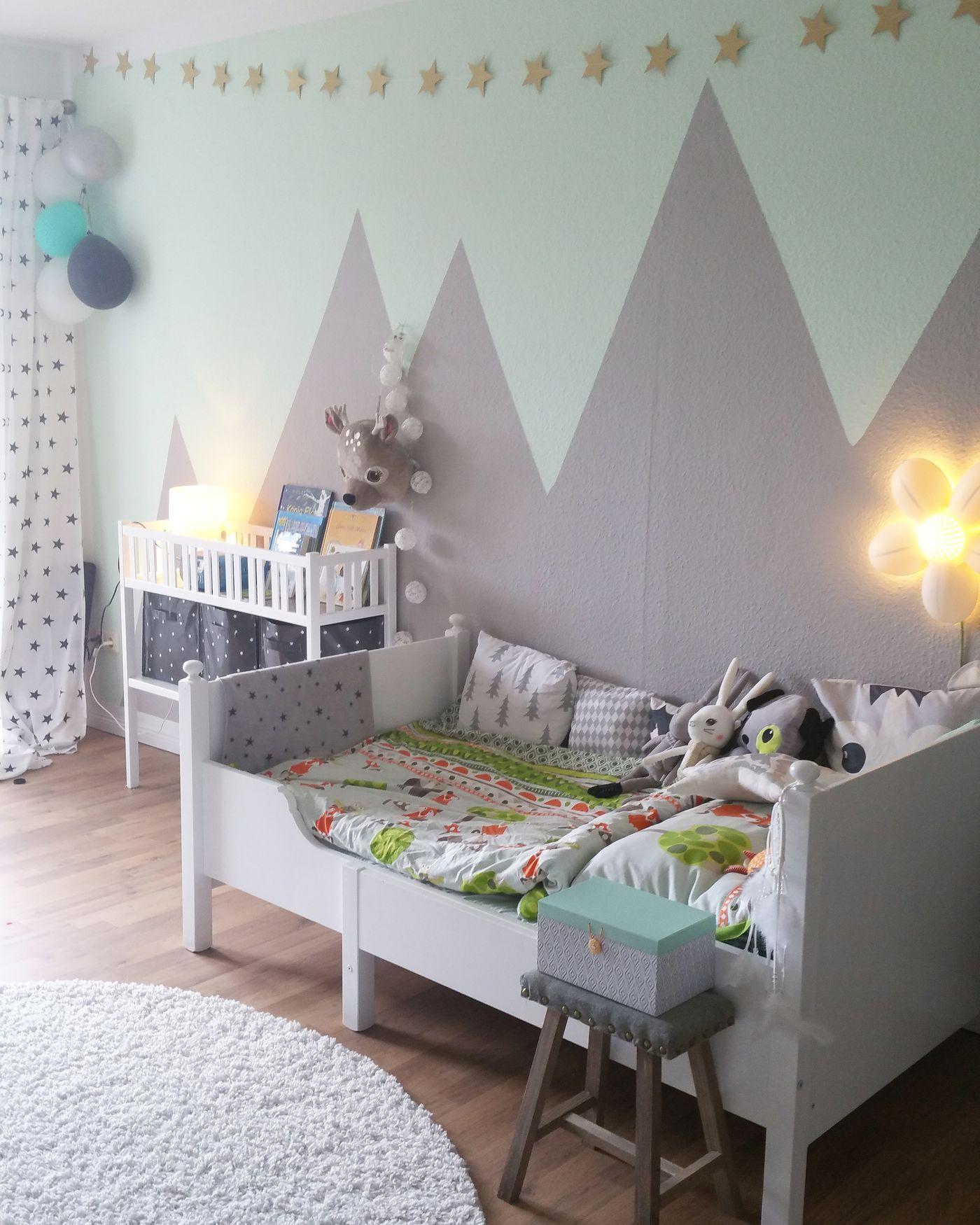 Die besten Ideen für Wandgestaltung im Kinderzimmer