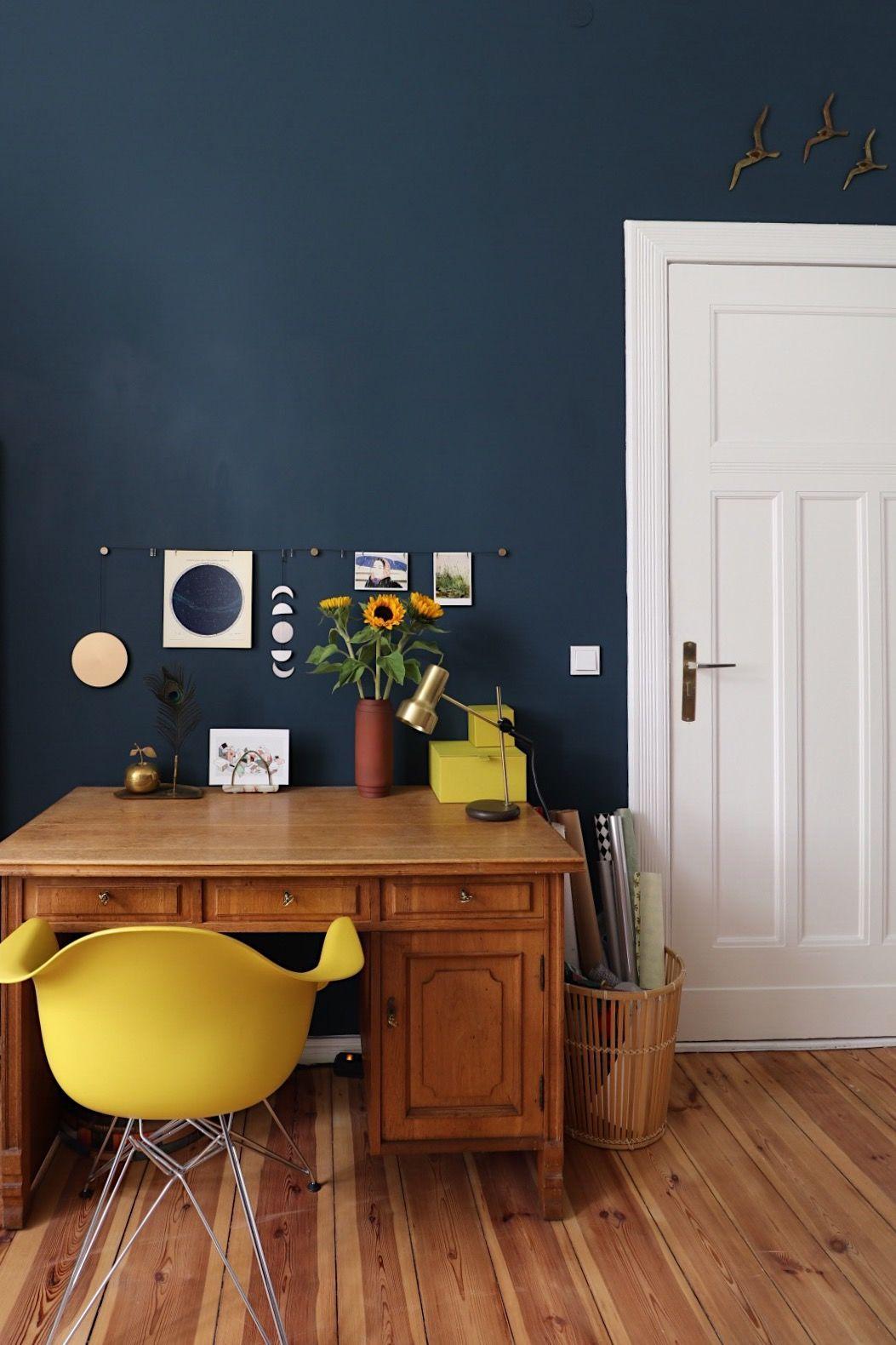 Wandfarbe Blau und Petrol: Die besten Ideen für Blautöne
