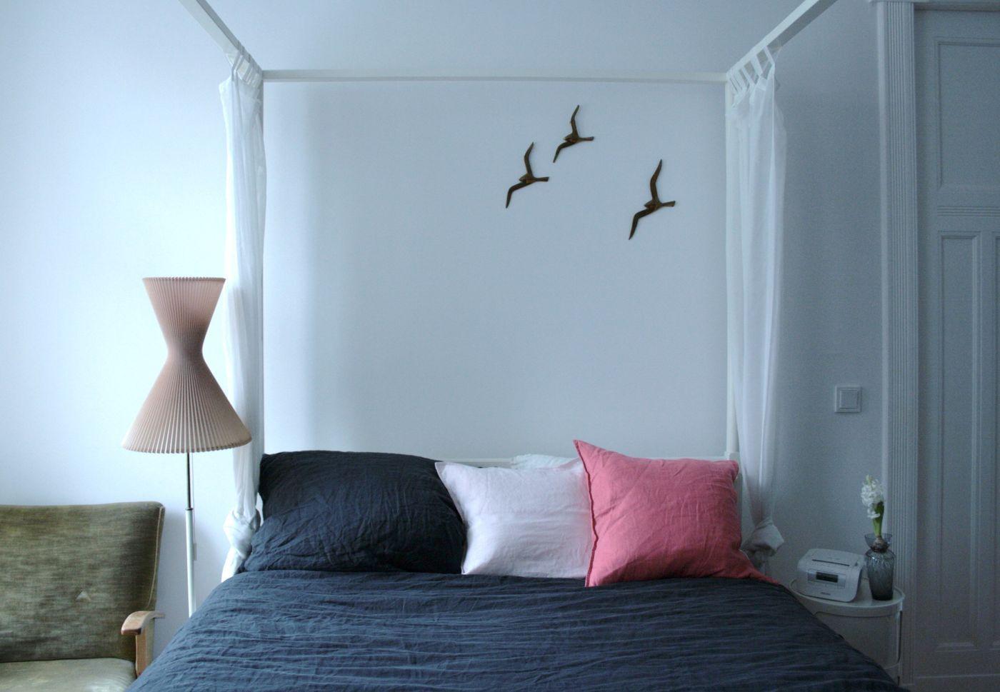 Wandgestaltung Schlafzimmer. Lieblingsplatz Im Winter