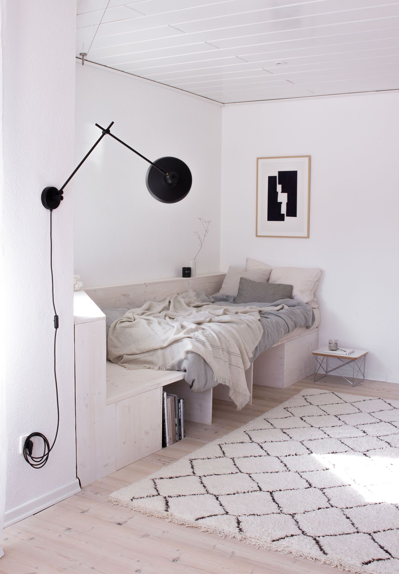 Selber bauen bauplan betten Wohnmobil Bett