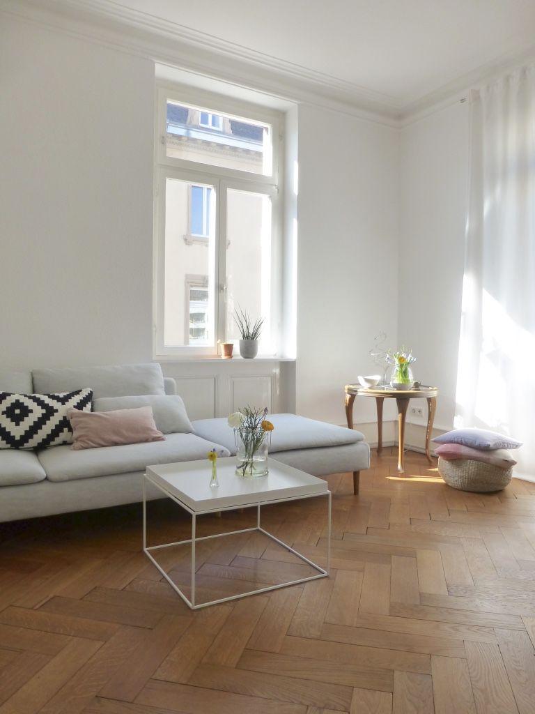 Moderne Wohnzimmer. Frühlingswohnzimmer