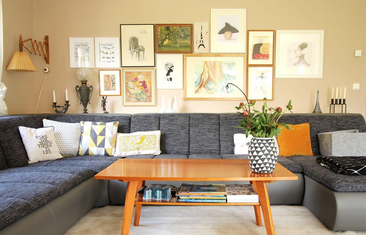 Die besten Ideen für die Wandgestaltung im Wohnzimmer - Seite 24