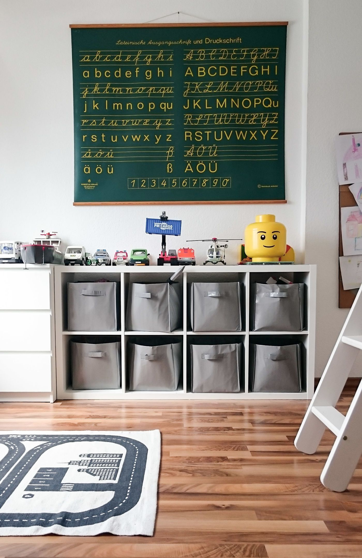 Spielzeug Verstauen Kinderzimmer ideen für stauraum und aufbewahrung im kinderzimmer