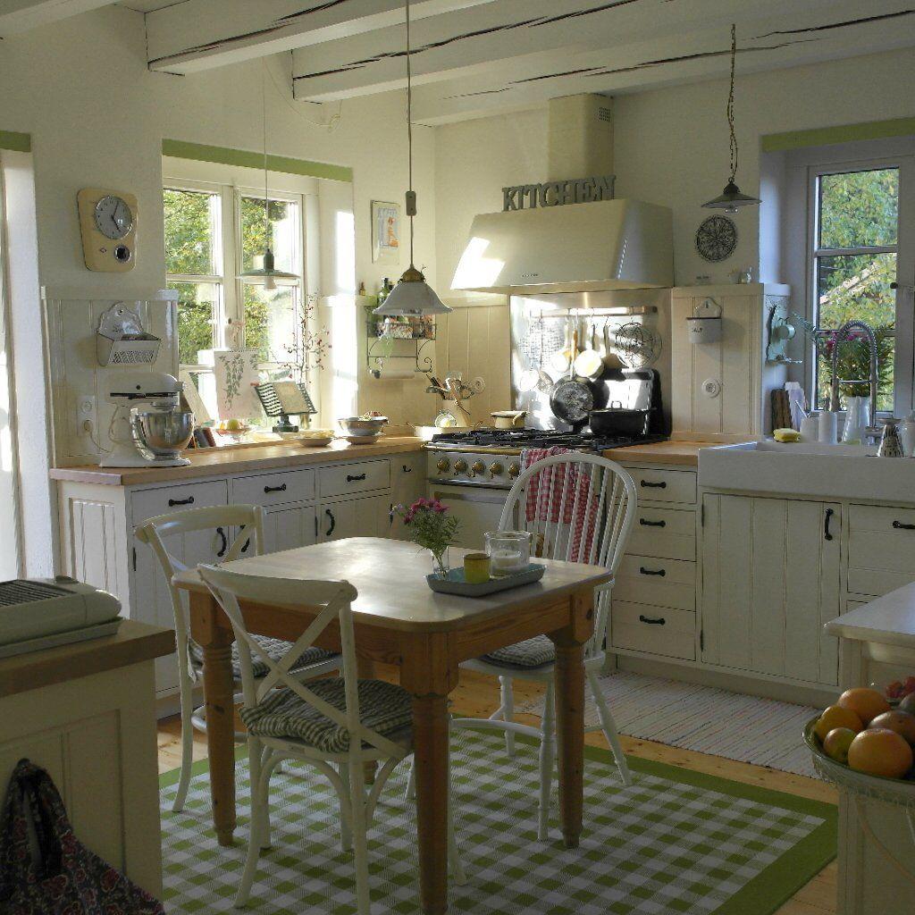 shabby chic kuche gestalten ideen, shabby chic küchen - ideen zum einrichten und dekorieren, Design ideen
