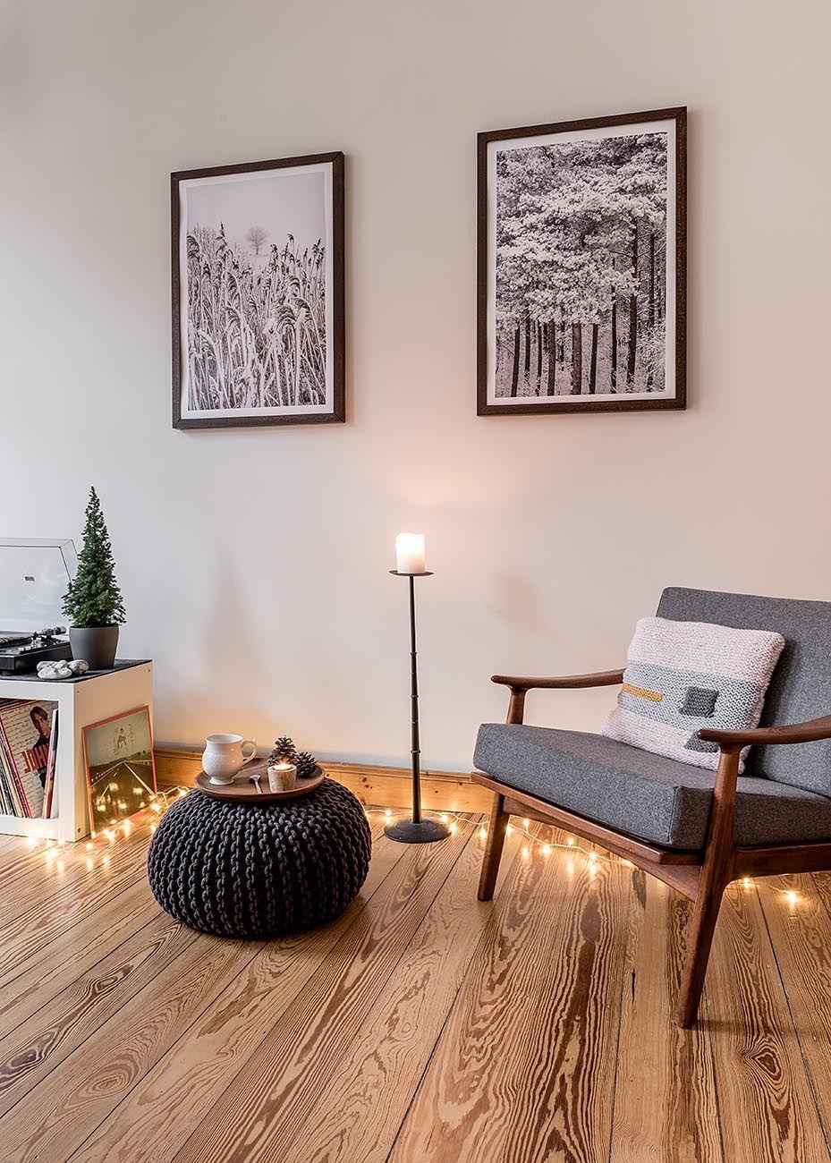 Dekorieren Mit Lichterketten Die Schonsten Ideen Aus Echten Wohnungen