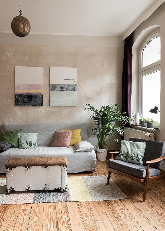 beige als wandfarbe dezent und edel. Black Bedroom Furniture Sets. Home Design Ideas