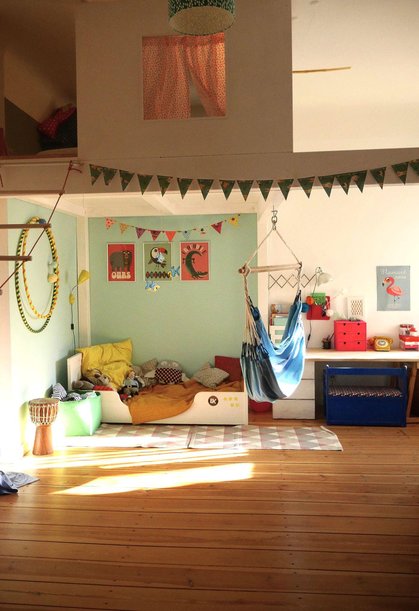 wohnideen mit kinderhochbetten. Black Bedroom Furniture Sets. Home Design Ideas