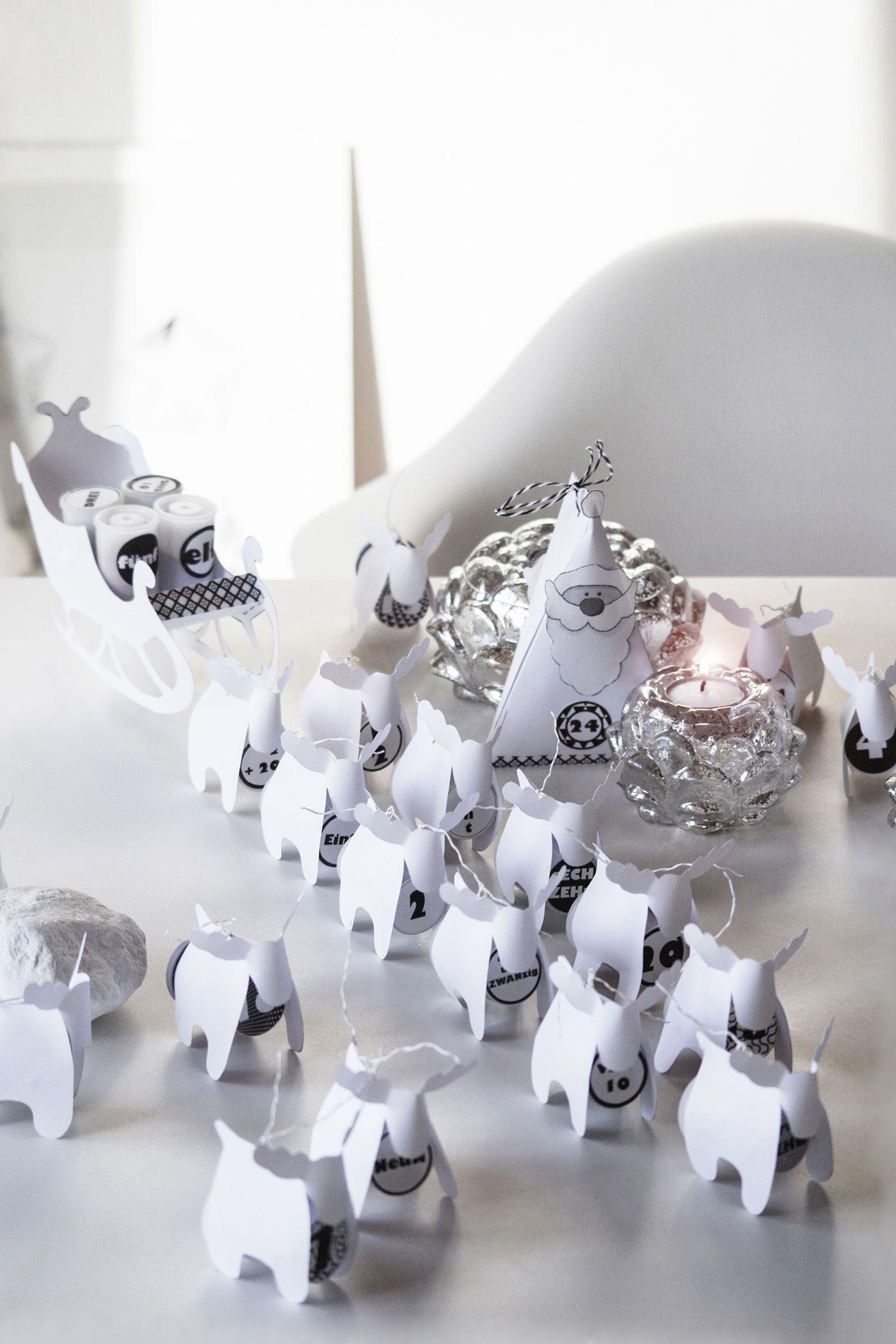 Genial Weihnachtsdeko Aus Papier Galerie Von
