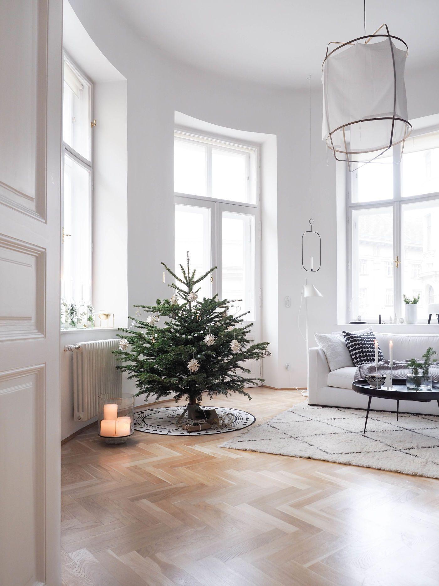 Weihnachtsbaum Klein Echt.Die Schönsten Ideen Für Deine Weihnachtsbaum Deko