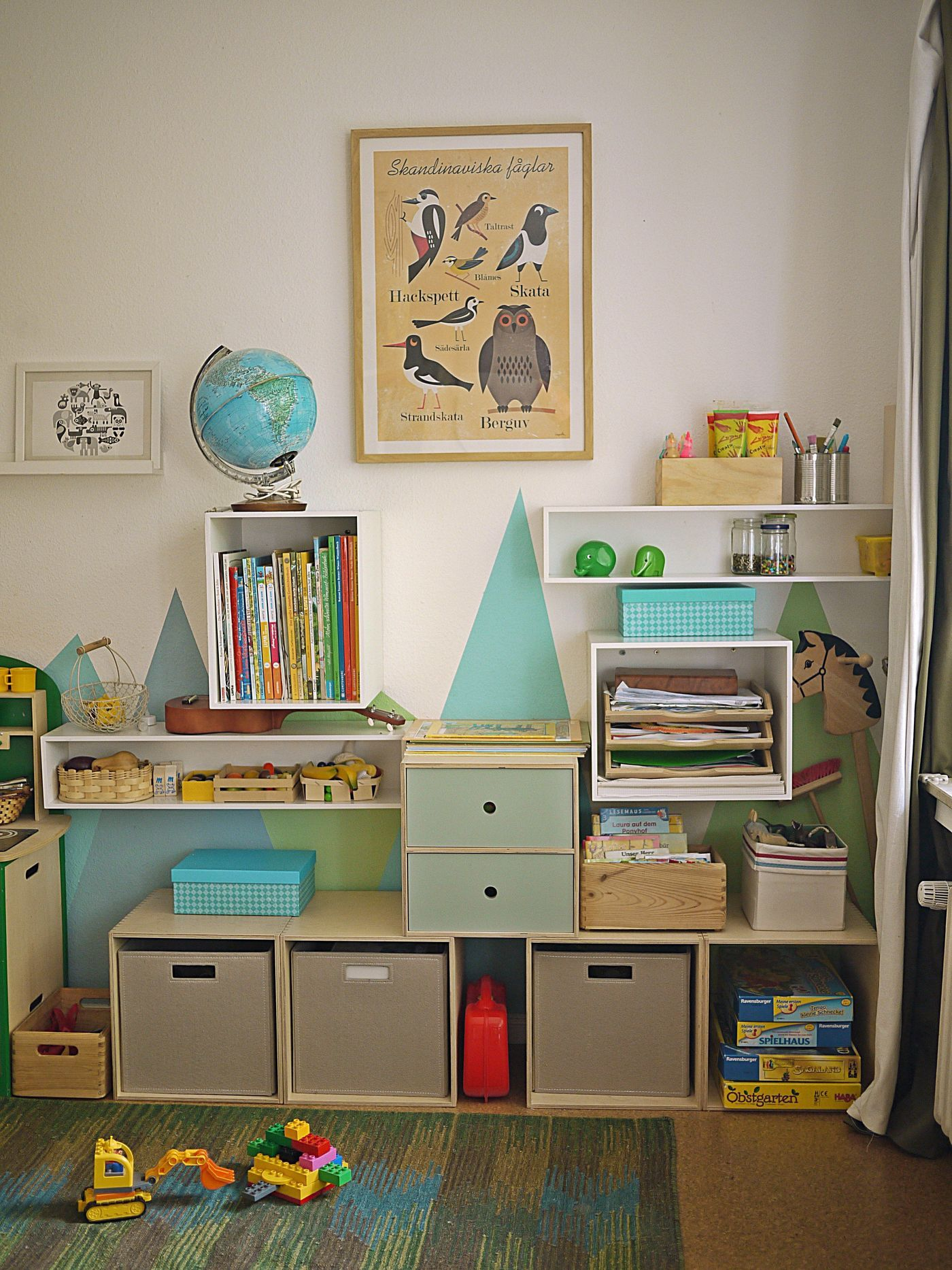 kinderzimmer aufbewahrung. Black Bedroom Furniture Sets. Home Design Ideas