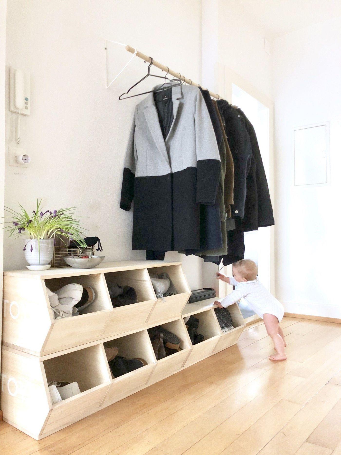 Hervorragend Garderobe Selber Bauen