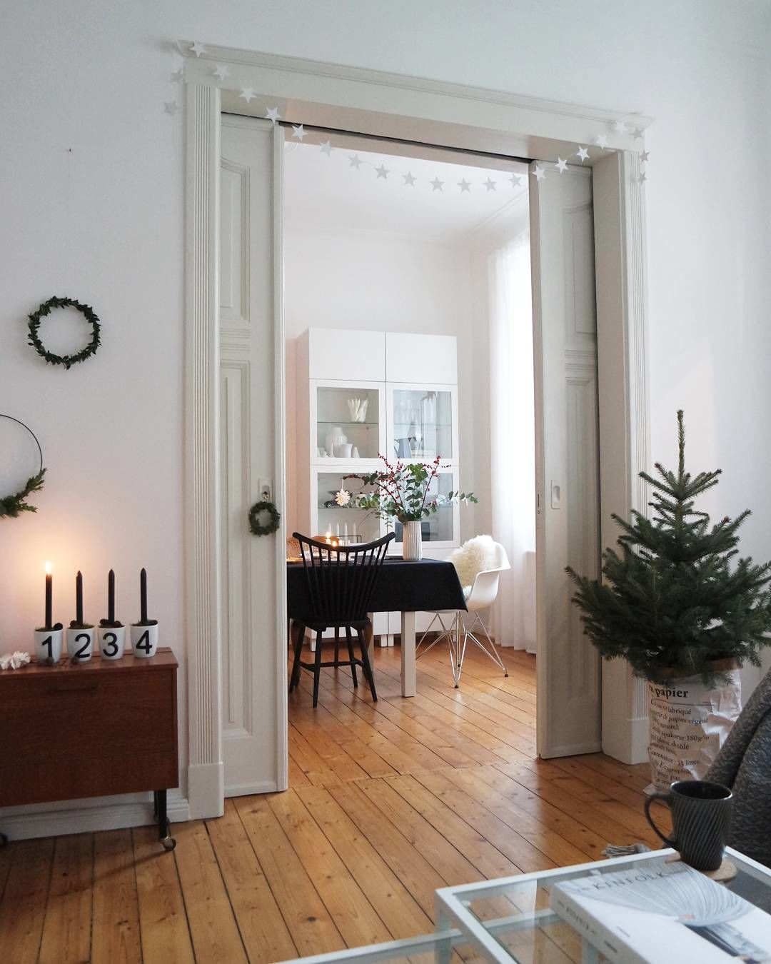 Esszimmer Deko. 1. Advent