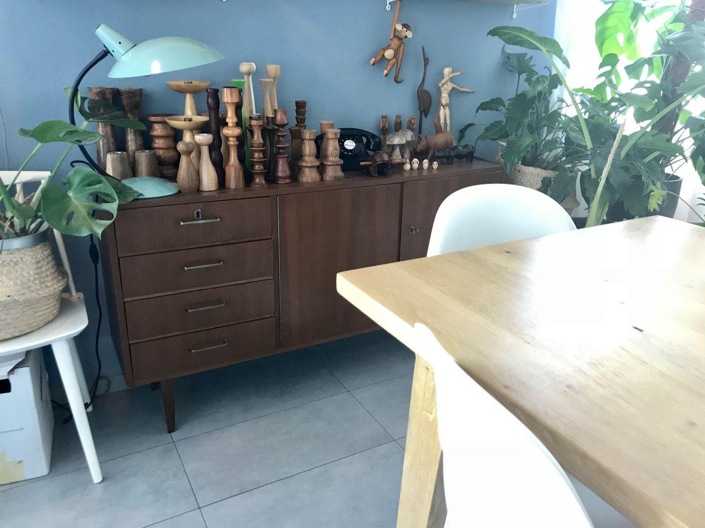 Meine Holzsammlung (Kerzenständern Fetisch 😂)