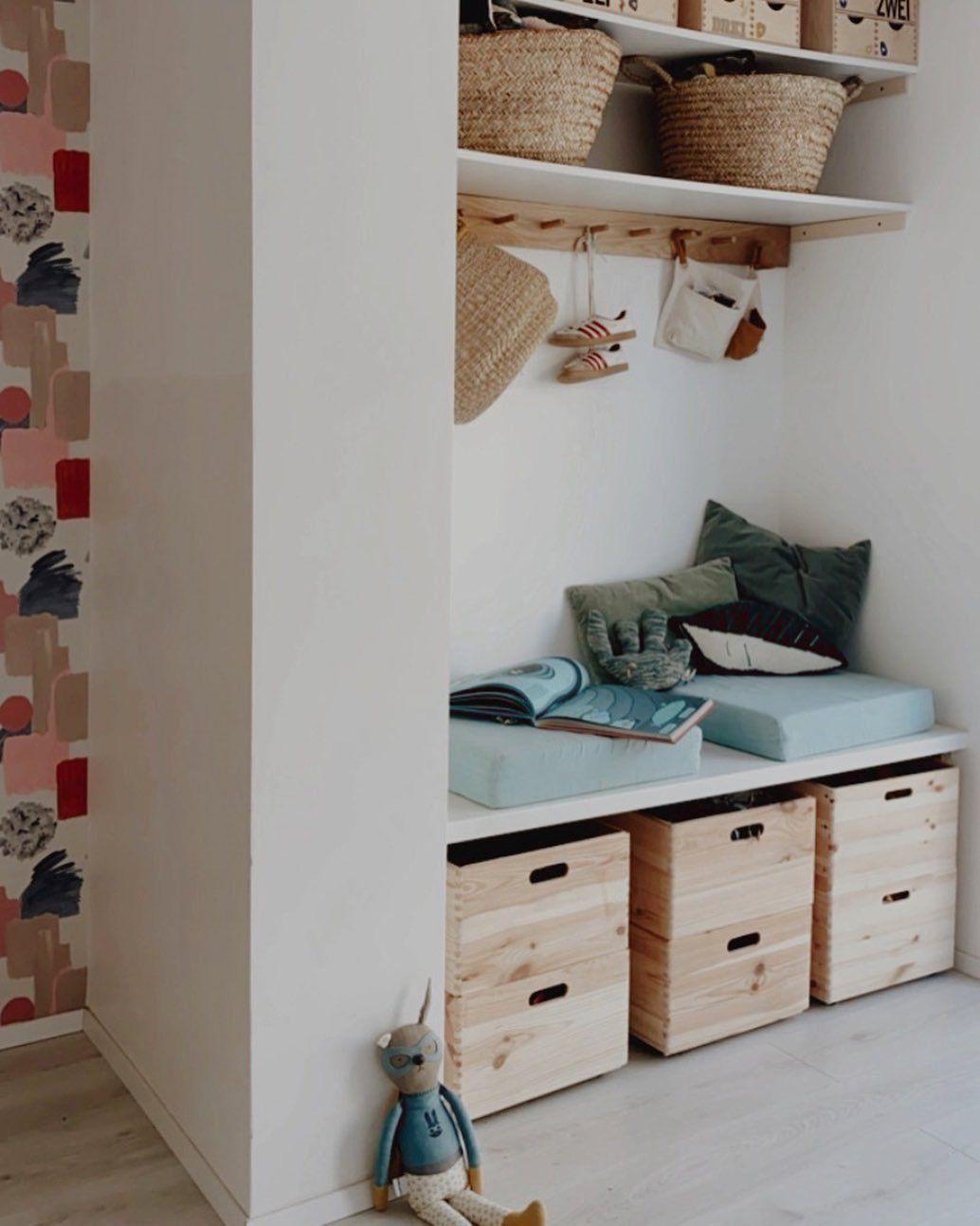 Ideen Für Stauraum Und Aufbewahrung Im Kinderzimmer