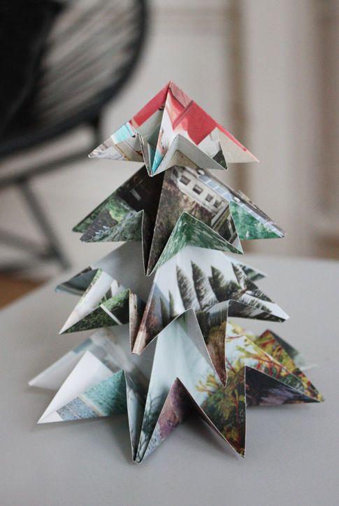 die sch nsten ideen f r weihnachtsdeko aus papier seite 2. Black Bedroom Furniture Sets. Home Design Ideas