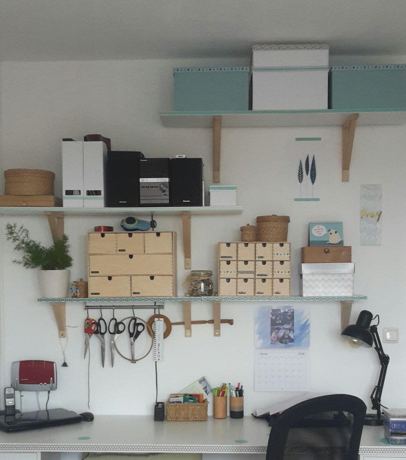 Arbeitsplatz Im Wohnzimmer Einrichten Ikea Gestalte Dir: Arbeitsplatz Im Schlafzimmer. Falttürenschrank