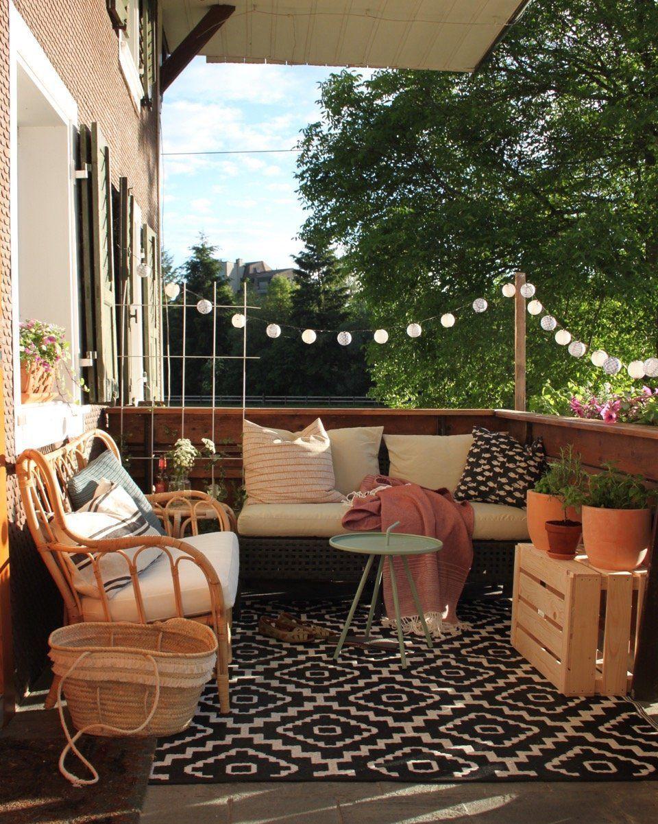 Lounge Ecke. Great Rattan Ecke Lounge Ecke Balkon Kruter Balkon With ...