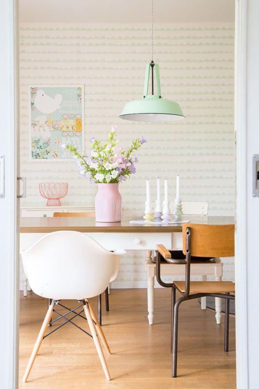 Ideen f r deine sommerdeko drinnen und drau en - Esszimmer wanddeko ...