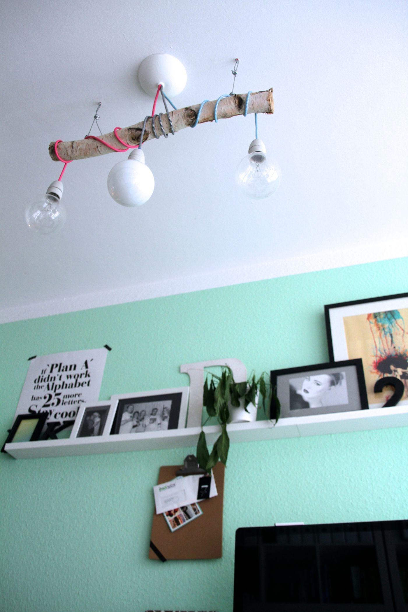 astlampe ideen bilder. Black Bedroom Furniture Sets. Home Design Ideas