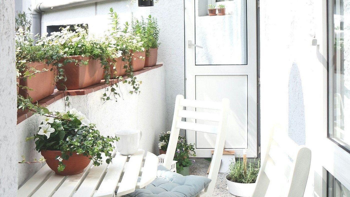 Balkon Wanddeko.Schöne Ideen Für Deinen Balkon Dein Sommerwohnzimmer