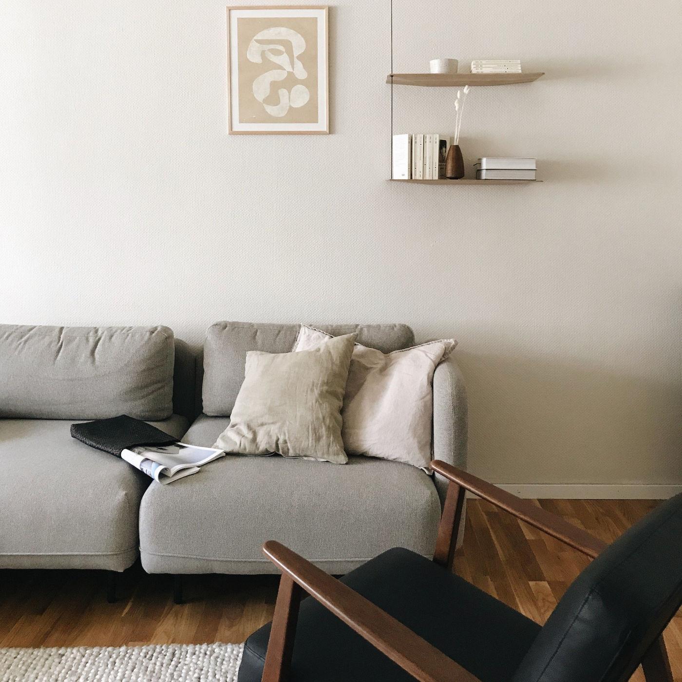 Wandfarben Zu Weißen Möbeln: Beige Als Wandfarbe