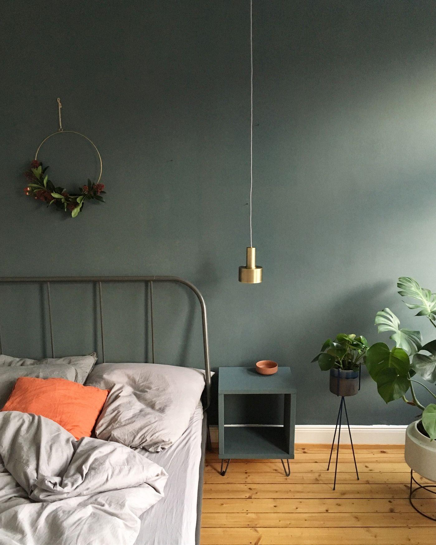 Wandfarbe Grün: Die besten Ideen und Tipps zum Streichen