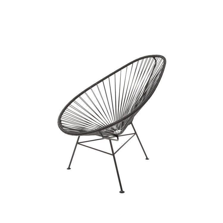 Original Acapulco CLASSIC Chair U2013 Negro