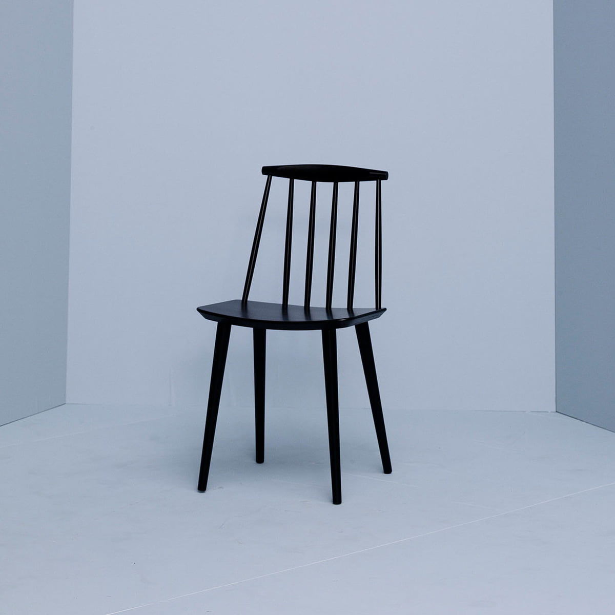 Hay J77 Chair Stuhl, Schwarz