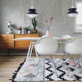 wohnen einrichten und deko mit beton. Black Bedroom Furniture Sets. Home Design Ideas