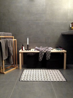 die besten ideen f r die wandgestaltung im badezimmer. Black Bedroom Furniture Sets. Home Design Ideas