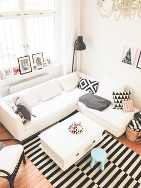 skandinavische wohnzimmer einrichtungstipps und ideen. Black Bedroom Furniture Sets. Home Design Ideas
