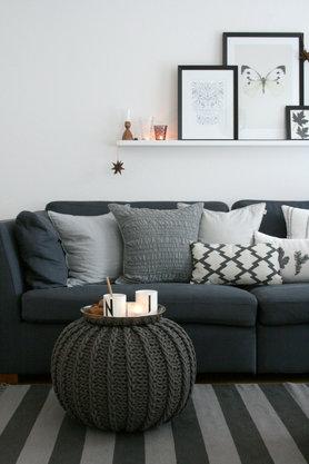 Wohnzimmer ideen wandgestaltung  Die besten Ideen für die Wandgestaltung im Wohnzimmer