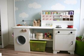 sch ne ideen f r kinderk chen und spielk chen. Black Bedroom Furniture Sets. Home Design Ideas
