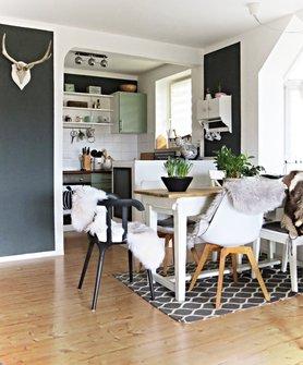 wandgestaltung in der k che die besten ideen. Black Bedroom Furniture Sets. Home Design Ideas