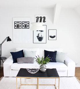 Die sch nsten ideen mit dem kivik sofa von ikea for Ideen wohnzimmergestaltung