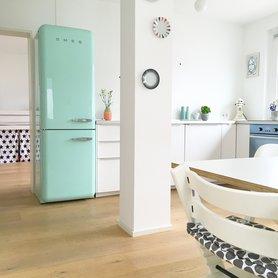 Kühlschrank retro mint  Smeg Küchengeräte im Retro-Design: Kühlschränke und Co.