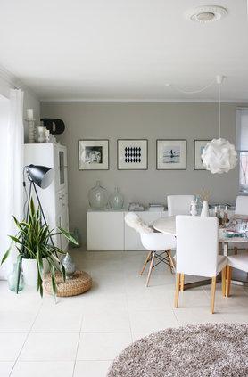 Esszimmer wandgestaltung die besten ideen - Lampe wohnzimmer ikea ...